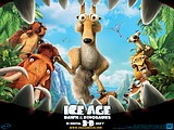 《冰河世紀3 Ice Age: Dawn of the Dinosaurs 》電影桌布12張