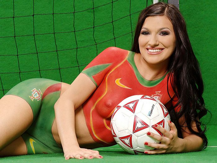 Football Body Paint - World Cup Baby